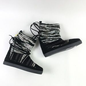 Toms Black Suede Nepal Boot H6414864